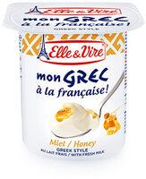 Dessert lacté Mon Grec - Miel - Produit - fr