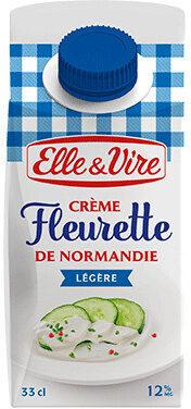 La Crème Fleurette légère de Normandie - Produit - fr
