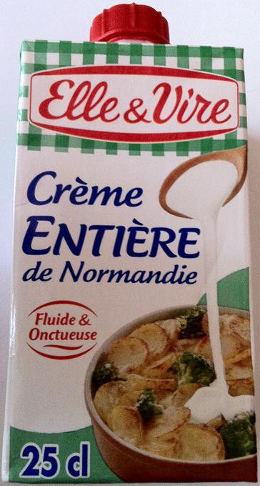 Crème entière de Normandie - Product