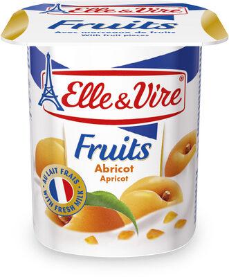Dessert lacté aux fruits stérilisé UHT - Abricots - Product - fr