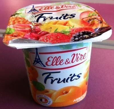 Yaourts Elle&Vire aux fruits - Product - fr
