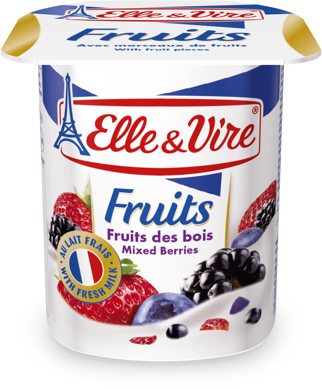 Dessert lacté aux fruits stérilisé UHT - Fruits des bois - Prodotto - fr