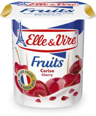Dessert lacté aux fruits stérilisé UHT - Cerises - Product - fr
