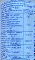 Dessert lacté aux fruits stérilisé UHT - Ananas - Voedingswaarden - fr