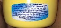 Crème dessert aromatisée saveur vanille stérilisée UHT - Ingrediënten - fr