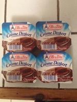 Crème dessert chocolat stérilisée UHT - Produit - fr