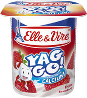 Dessert lacté pulpé Yaggo! stérilisé UHT - Fraise - Product - fr