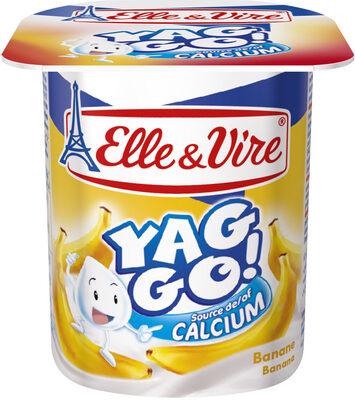 Dessert lacté pulpé Yaggo! stérilisé UHT - Banane - Product - fr