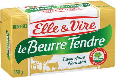 Le Beurre Tendre plaquette demi-sel - Product - fr