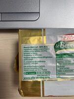 Le Beurre Tendre plaquette demi-sel - Ingrediënten - fr