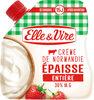 La Crème entière épaisse en poche de Normandie - Produit