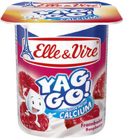 Dessert lacté pulpé Yaggo! stérilisé UHT - Framboise - Product - fr