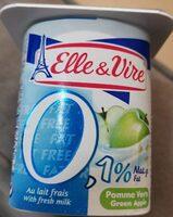 Dessert lacté aux fruits 0,1% stérilisé UHT - Pomme verte - Voedingswaarden - fr