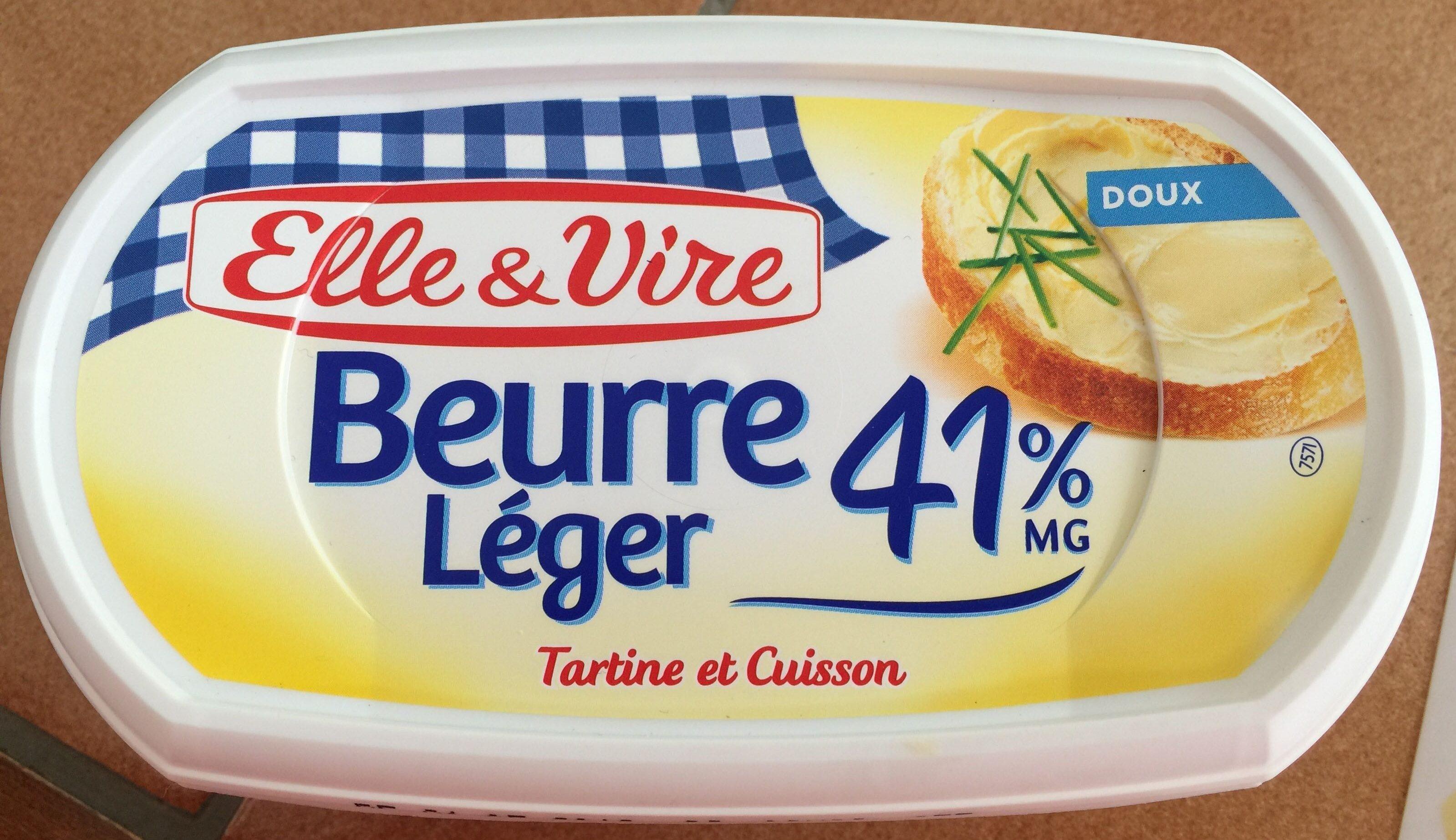 Kết quả hình ảnh cho ELLE ET VIRE - Beurre extra léger doux 10% MG