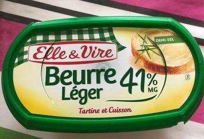 Le Beurre Léger 41%MG demi-sel - Produit