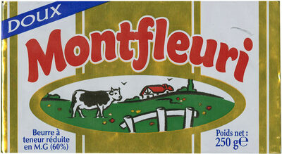 Beurre à teneur réduite en MG (60%) - Produit - fr
