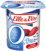 Dessert lacté aux fruits 0,1% stérilisé UHT - Fraise - Produit - fr