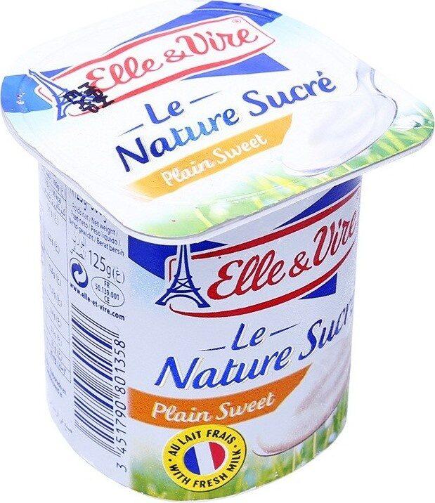 Dessert lacté Nature - Sucré - Produit - fr