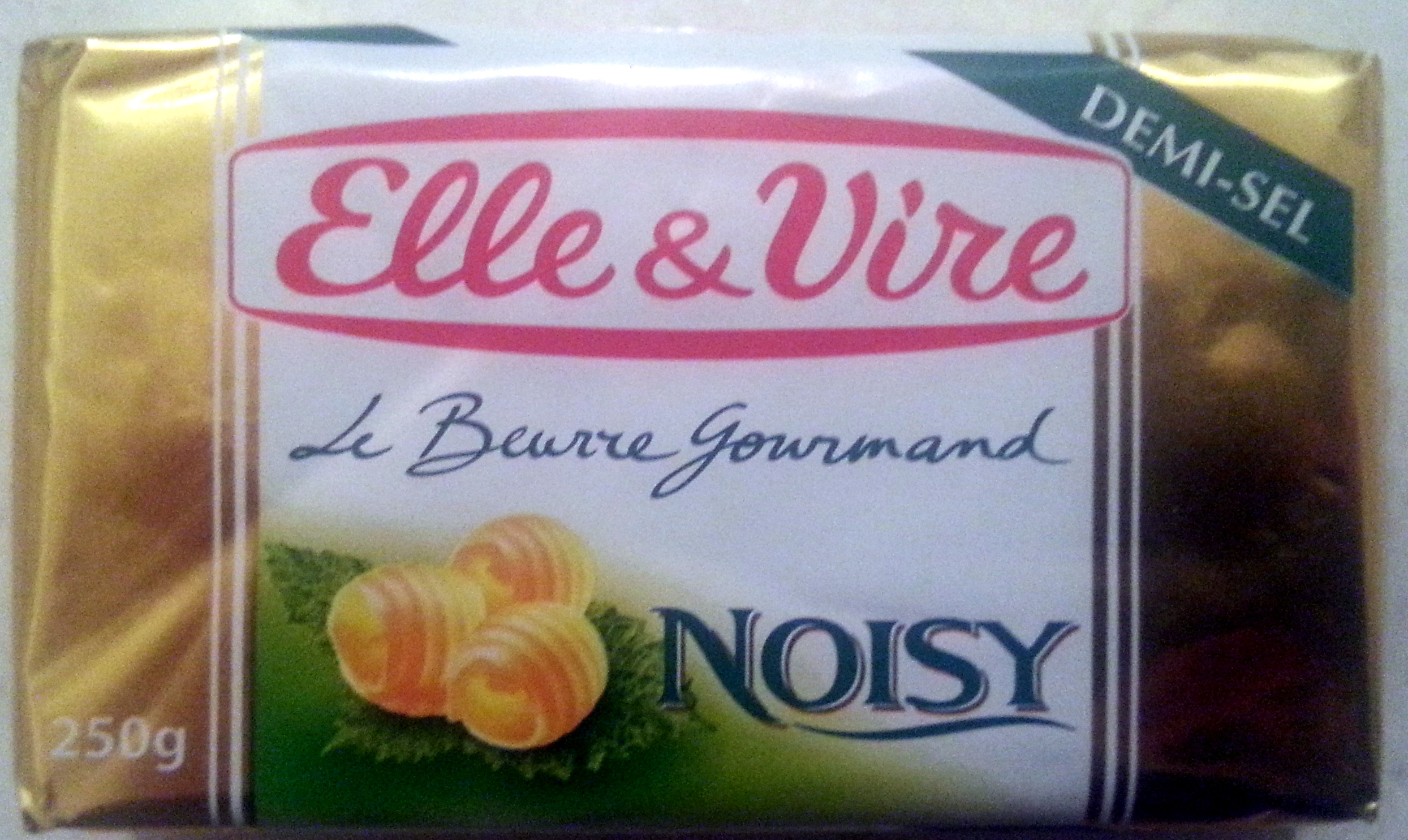 Le Beurre gourmand noisy demi-sel 80% MG - Product