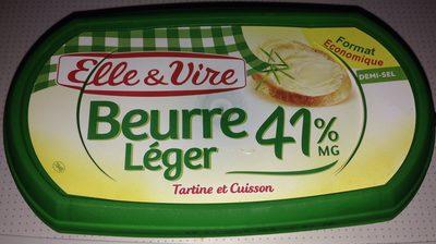 Beurre léger 41% demi sel - Produit