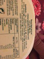 Beurre léger 41% demi sel - Ingrédients