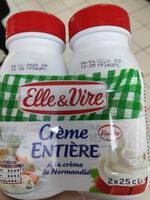Crème entière liquide - Produit - fr