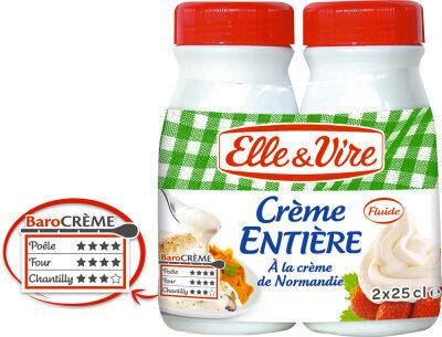 La Crème entière à la crème de Normandie - Product - fr