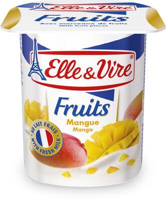 Dessert lactés aux fruits stérilisé UHT - Mangue - Product - fr