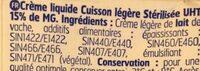 Cuisson advantage cooking - Ingrédients - fr