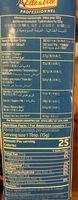 Cuisson advantage cooking - Informations nutritionnelles - fr