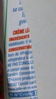 Semi-épaisse Gourmande - Ingredienti - fr