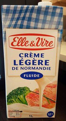 La Crème legère fluide en brique de Normandie - Product - fr