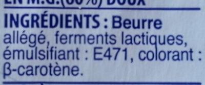 Beurre - Ingredients - en