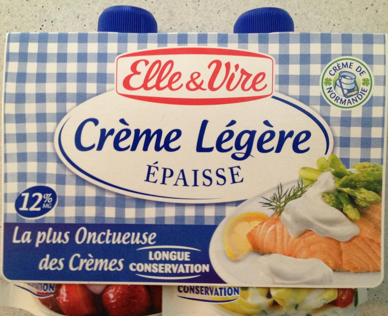 Crème légère épaisse - Produit - fr