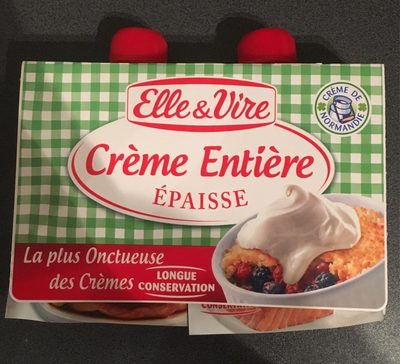 Crème entière épaisse - Produit