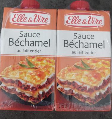 La Sauce Béchamel UHT au lait entier en brique - Prodotto - fr
