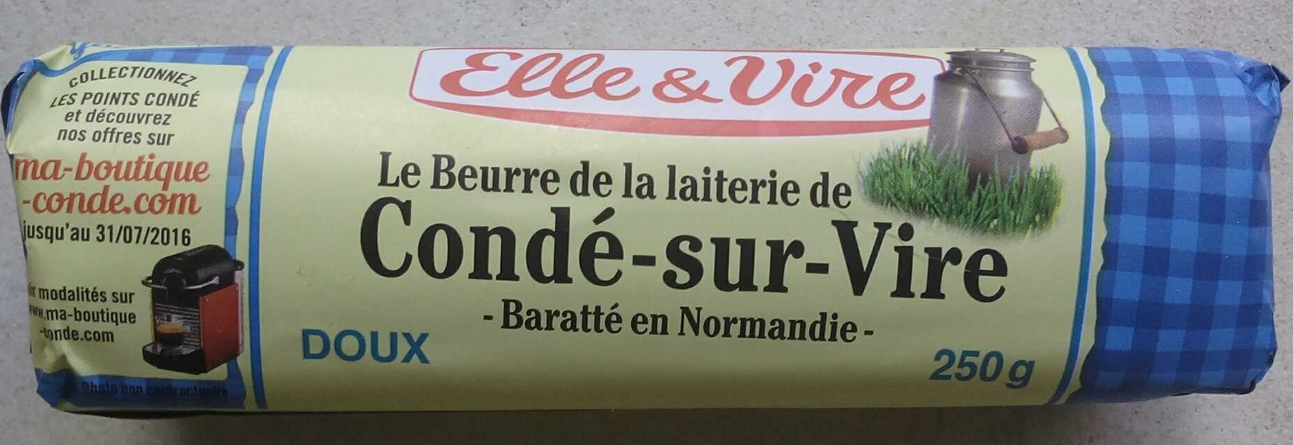 Beurre - Product