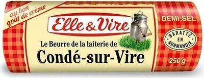 Beurre demi-sel Condé-sur-Vire - Produit - fr