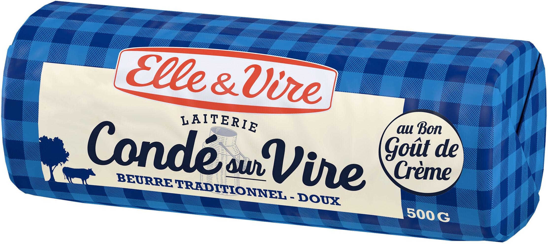 Le Beurre de Condé-sur-Vire doux - Product - fr