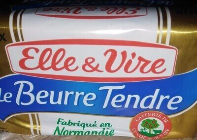 Le beurre tendre doux - Produit - fr
