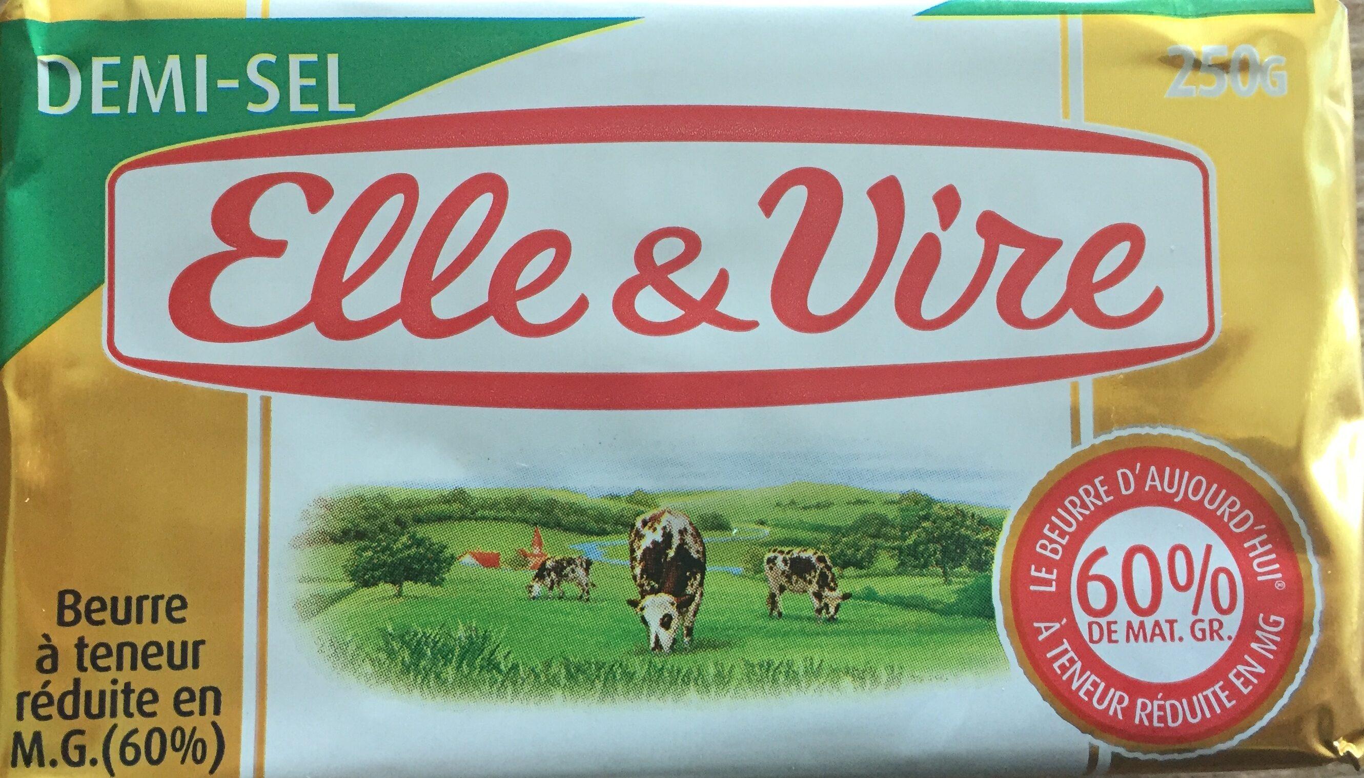 Beurre Demi-Sel Elle&Vire - Produit - fr