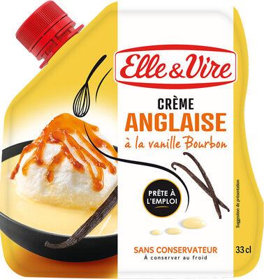 La Crème Anglaise à la vanille Bourbon en poche - Product - fr