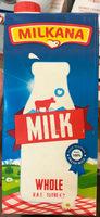 Milk Whole - Produit - fr