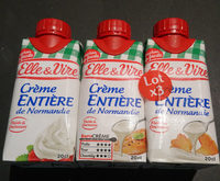 crème entière fluide - lot de 3 - Product - fr