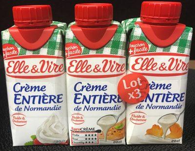 Crème entière - Produkt