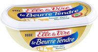 Le Beurre Tendre barquette doux - Produit - fr