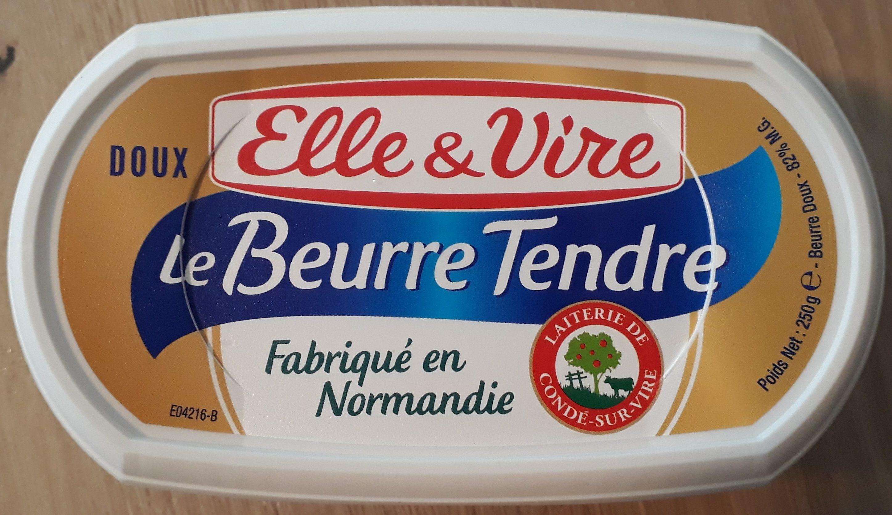 Le Beurre Tendre, doux - Prodotto - fr