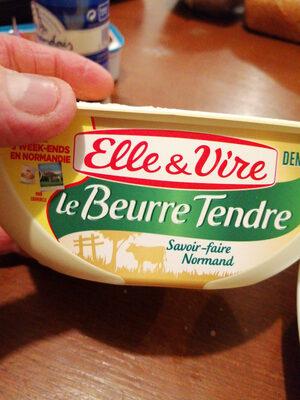 Le beurre tendre demi-sel - Produit - fr