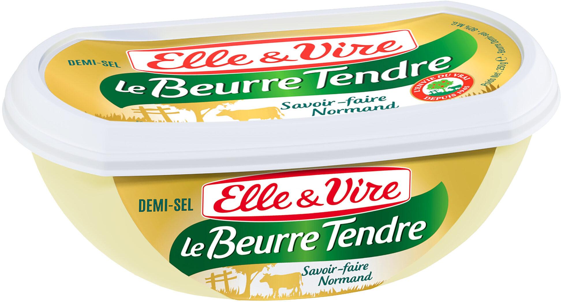 Le Beurre Tendre barquette demi-sel - Prodotto - fr
