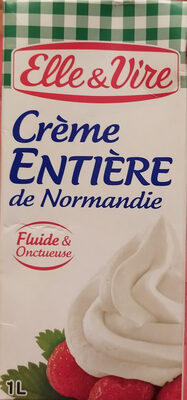 Crème entière de Normandie - Produit